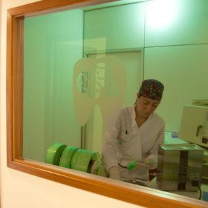 Stanza dedicata alla sterilizzazione